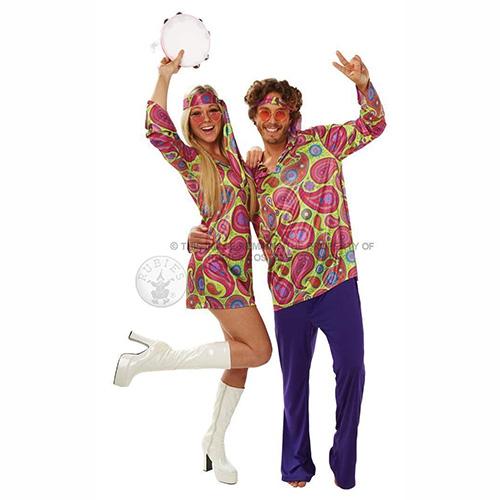 Disfraces Hippie para parejas