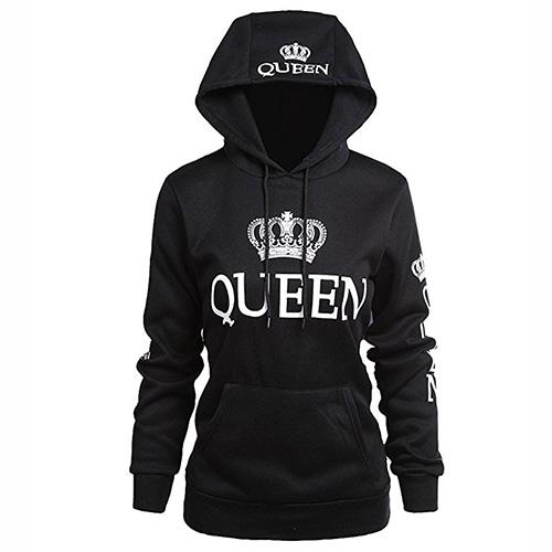 Sudadera con capucha Queen