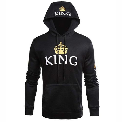 Sudadera con capucha King