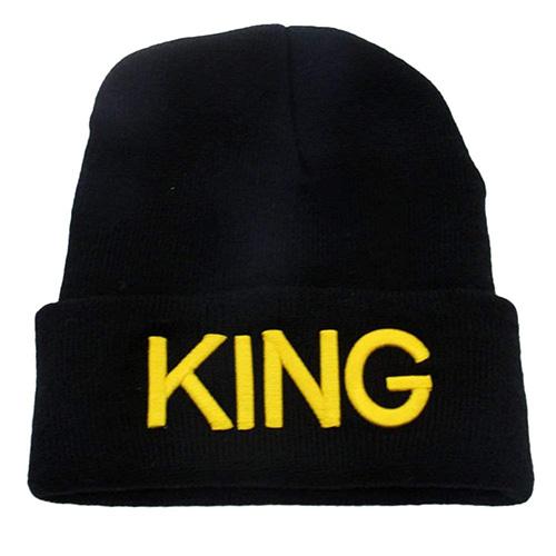 Gorro de lana King