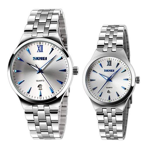 Reloj de pulsera para novios