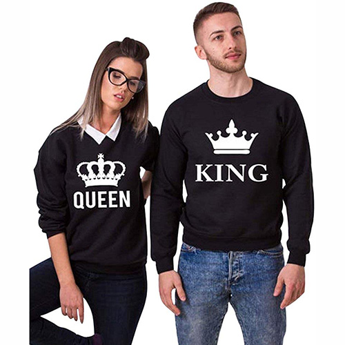 Jersey para novios Queen King