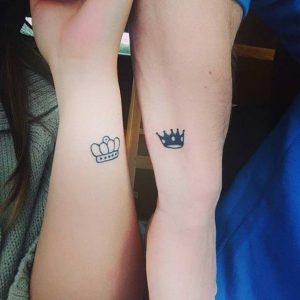 tatuajes para parejas discreto